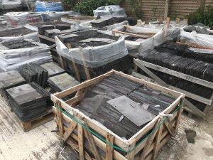 Our selection of reclaimed roofing supplies