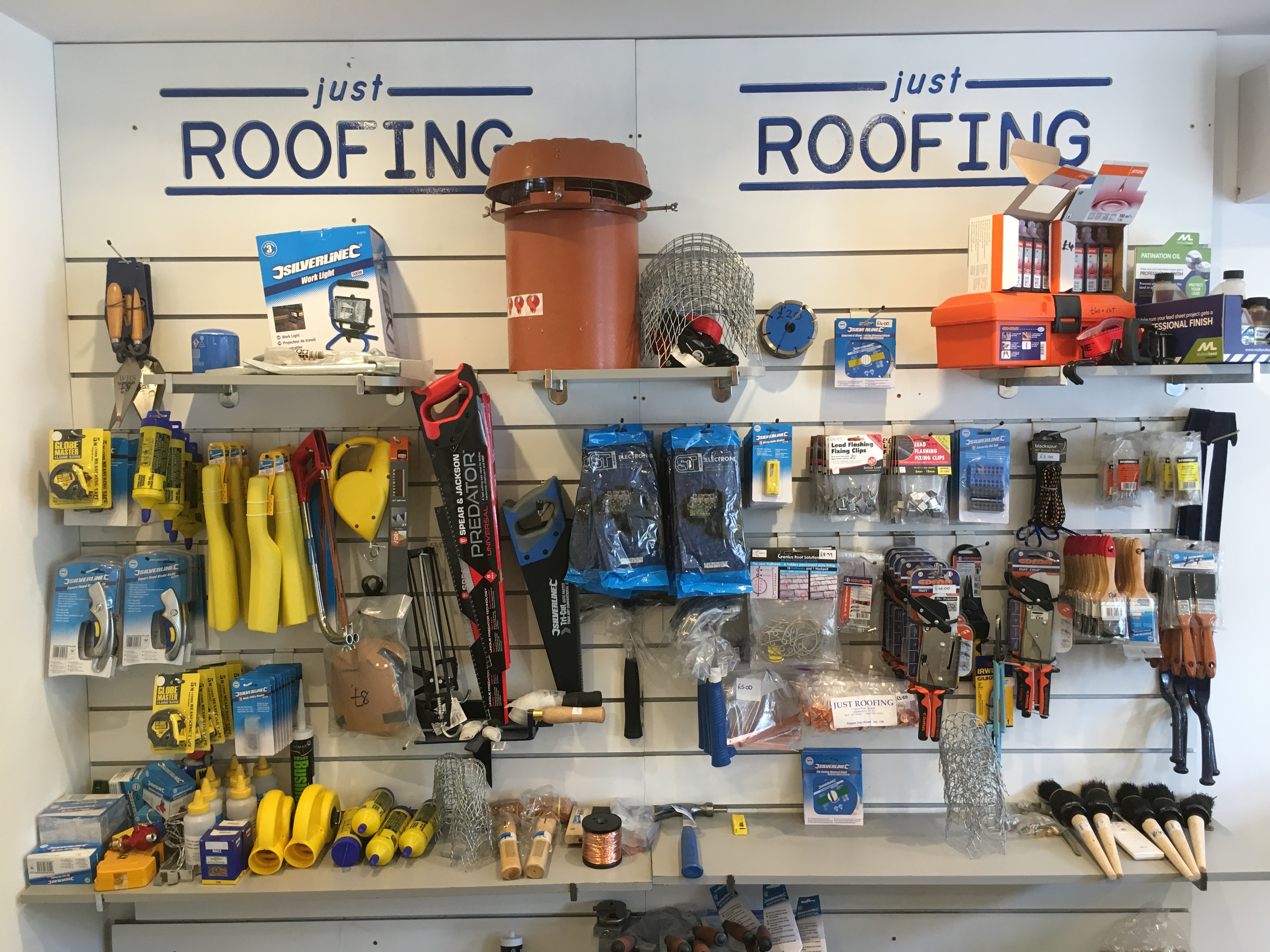 Roofing Tools And Materials In Oakham Just Roofing