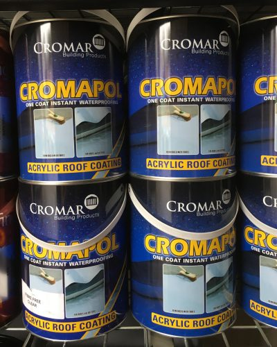 Cromar Paint Tins