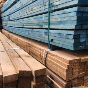 Stack of Roofing Battens