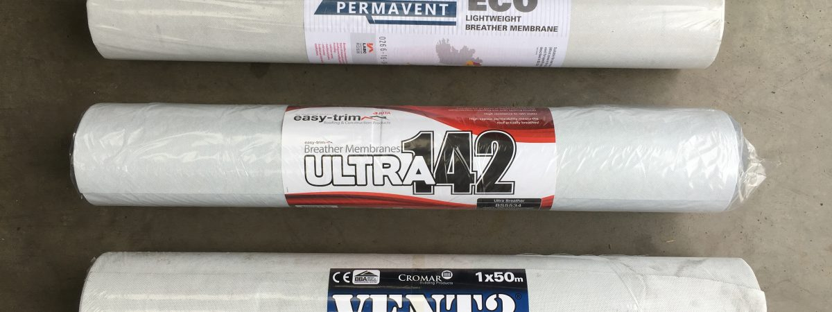 Rolls of Breather Membrane